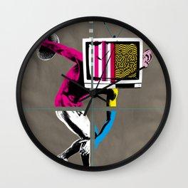 Diskus TV 2 Wall Clock