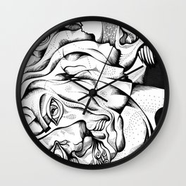 my two persons Wall Clock