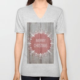 Merry Christmas #2 Unisex V-Neck