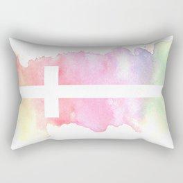 Cross- Landscape / Sunset Rectangular Pillow