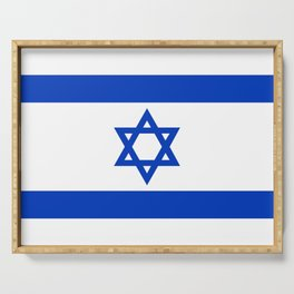 Flag of the State of Israel - High Quality Image Serving Tray