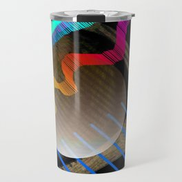 Rainbow Wave Travel Mug