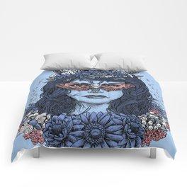 Freyja (Blue Variant) Comforters