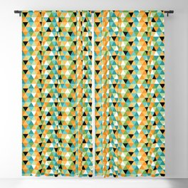 Scandy Triangles Blackout Curtain