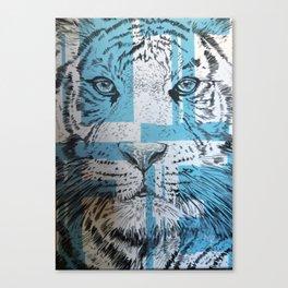 Tiger of Life Canvas Print