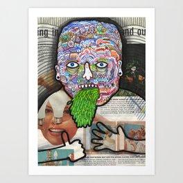Spew. Art Print