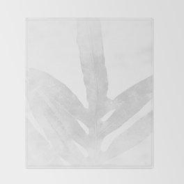 Ghost Fern Throw Blanket