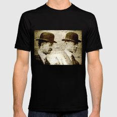 The Wright Brothers LARGE Mens Fitted Tee Black