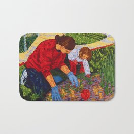 Tending the Garden Bath Mat