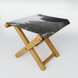 Flat Iron 1 During Rainstorm Folding Stool