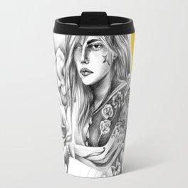 Eurydice among roses Travel Mug