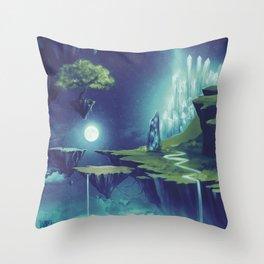 Creativity Island Throw Pillow