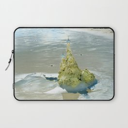 castles in the sand Laptop Sleeve