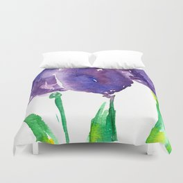 flower X Duvet Cover