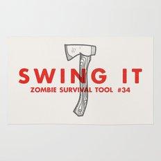 Swing it - Zombie Survival Tools Rug