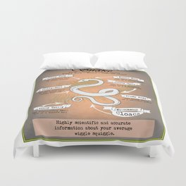 Snake Science Duvet Cover
