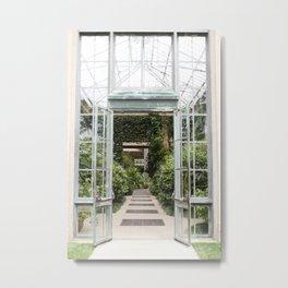 Conservatory Doors Metal Print