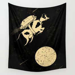 Space Cow Wall Tapestry