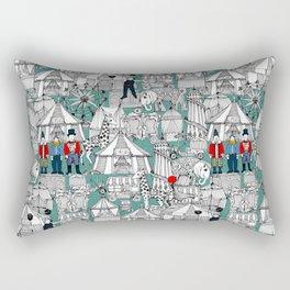 retro circus Rectangular Pillow