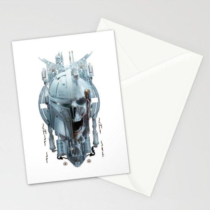 Mando - 2 Stationery Cards
