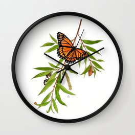 Viceroy and Willow Wall Clock