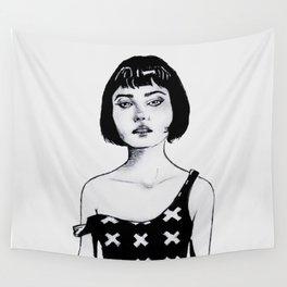 Sassy Girl. Wall Tapestry