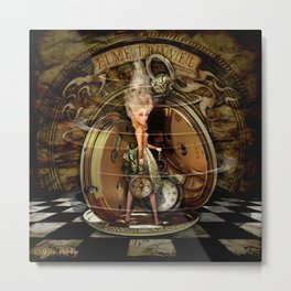 Time Travel Metal Print