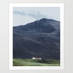 House Amongst Giants Art Print