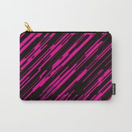 Diagonals and Magenta Carry-All Pouch