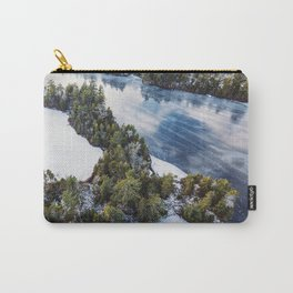 Paper Mill Lake Carry-All Pouch