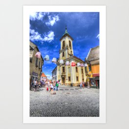 Szentendre Town Hungary Art Print