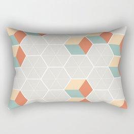 Japanese Pattern: Winter Rectangular Pillow