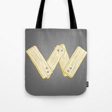 Alphabet W Tote Bag