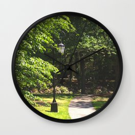 Wellesley Lamp Post Wall Clock