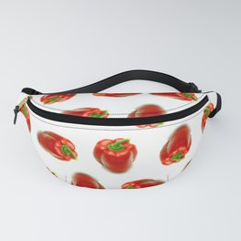 Red peppers pattern Fanny Pack