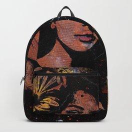 untitled #28914 (sunflowers bikini girl) Backpack