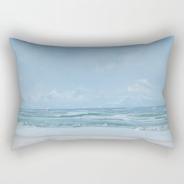 Abandoned Beach Rectangular Pillow