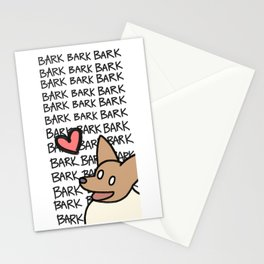 Corgi Opinions Stationery Cards