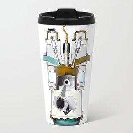 Exhaust Stroke Travel Mug