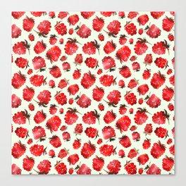 Raspberry vibes Canvas Print