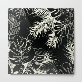 Tropical pattern 036 Metal Print