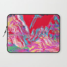 Glitch Mountain Laptop Sleeve