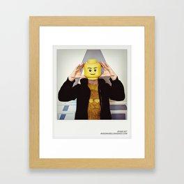 Minifig me ! – Everyone has a LEGO piece inside - 2 Framed Art Print