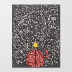 My Brain Won't Stop Canvas Print