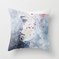 small piece 48 Throw Pillow