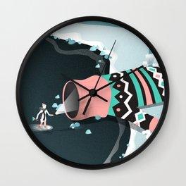 Mitten cave Wall Clock