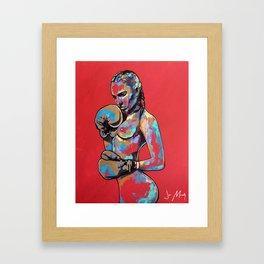 Beat it Framed Art Print