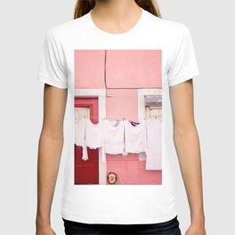 Pink House in Lisbon T-shirt