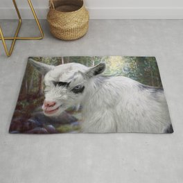 Baby Goat Rug