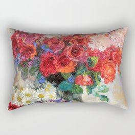 Augusto Giacometti - Rose - Digital Remastered Edition Rectangular Pillow